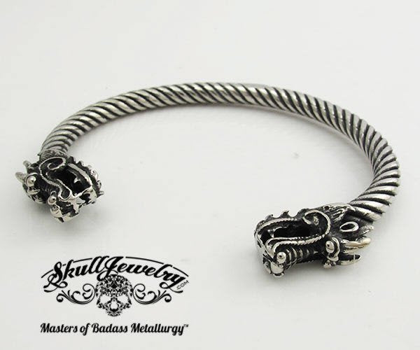 Steel Dragon Bracelet