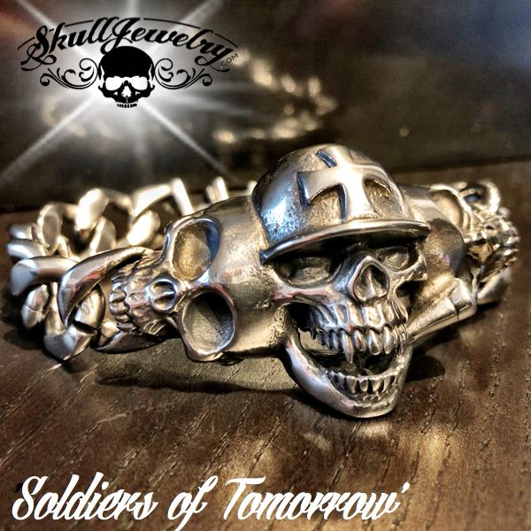 'Soldiers of Tomorrow' Steel Bracelet