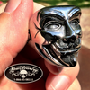 'Anonymous/Vendetta' Stainless Steel Ring