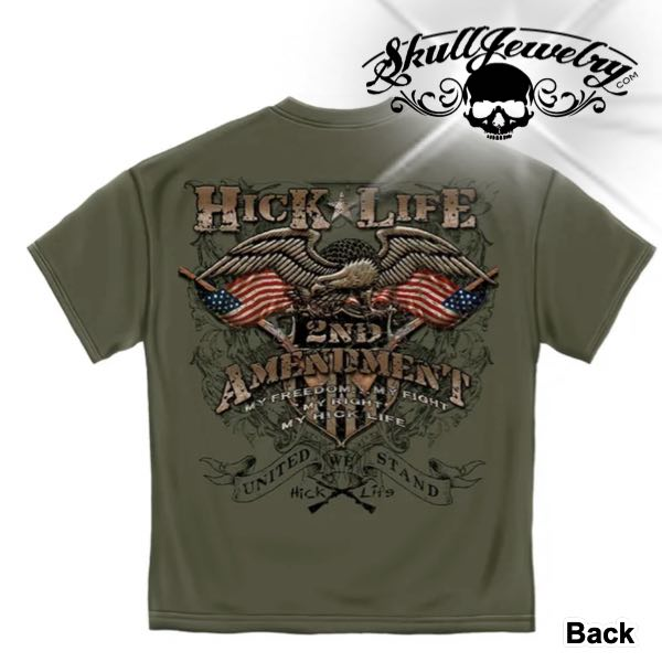 'Hick Life' 2nd Amendment 2XL T-Shirt