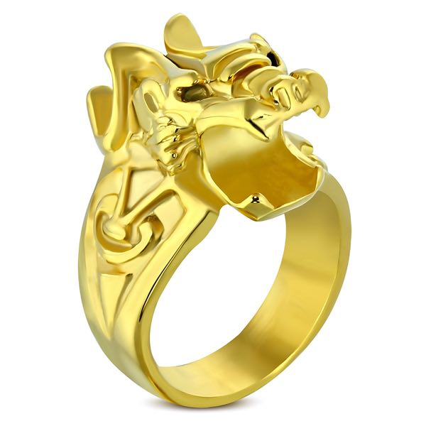 'Becoming The Dragon' Ring (c344)