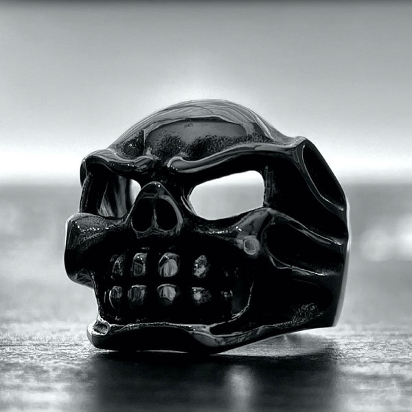 'Big Kahuna' Stainless Steel Skull Ring