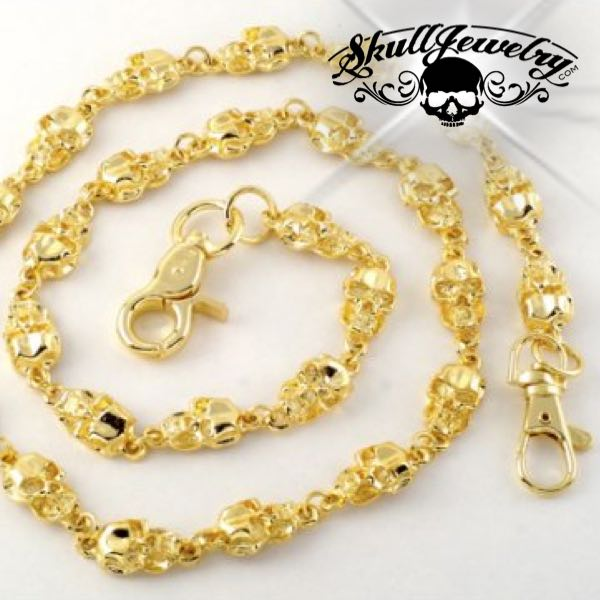 Big & Bold Gold-Tone Wallet Chain (WALLET_CHAIN014)