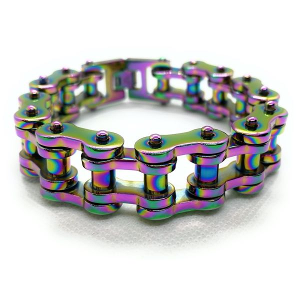 Big & Bold & Heavy Multi-Color Bracelet