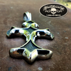 Chiseled In Stone Cross Pendant
