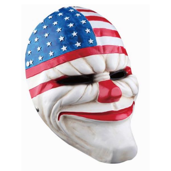 Clown w/USA Flag Mask