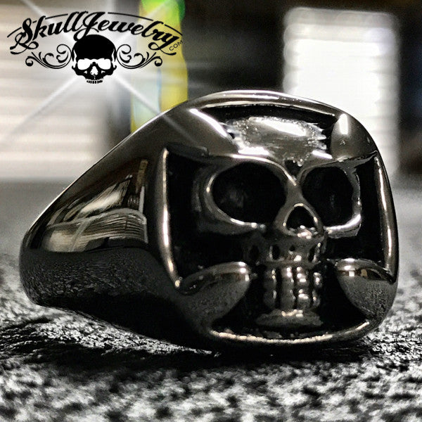 Don't Bring Me Down - Skull & Cross Ring