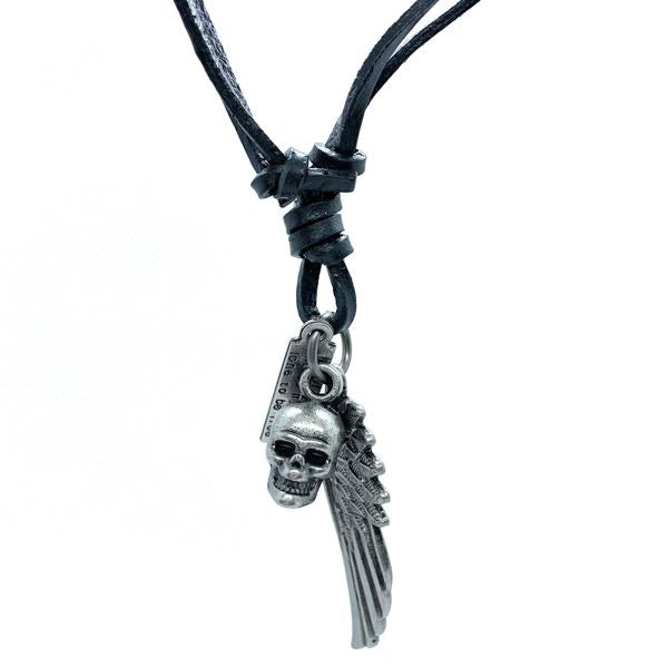 Fashion Charm Leather Necklace