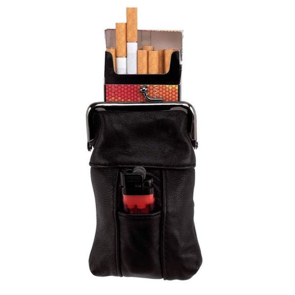 Genuine Leather Cigarette Case (cigarette003)
