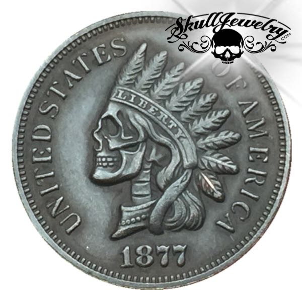 Hobo Nickel 1877 Indian Head Cent