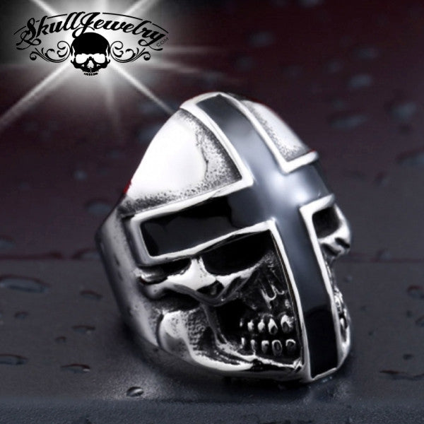 Holy Crusader Skull Ring