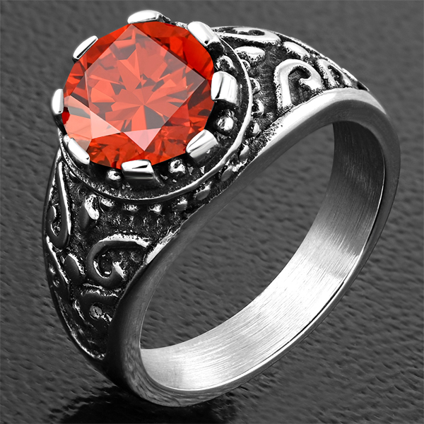 'I Saw Red' Ring