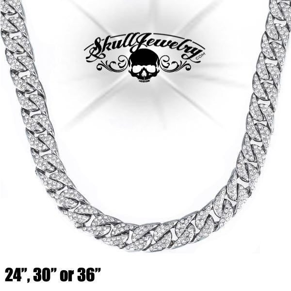 Iced Out Necklace (various lengths)