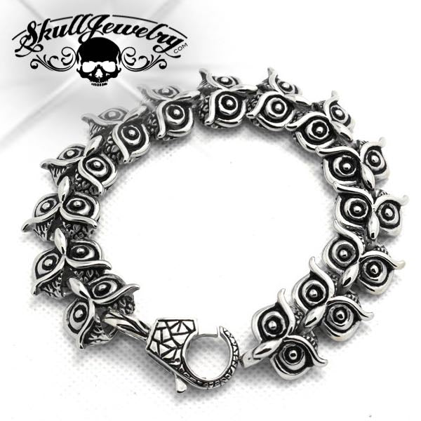 'It's a Beautiful Day' Owl Bracelet (840)