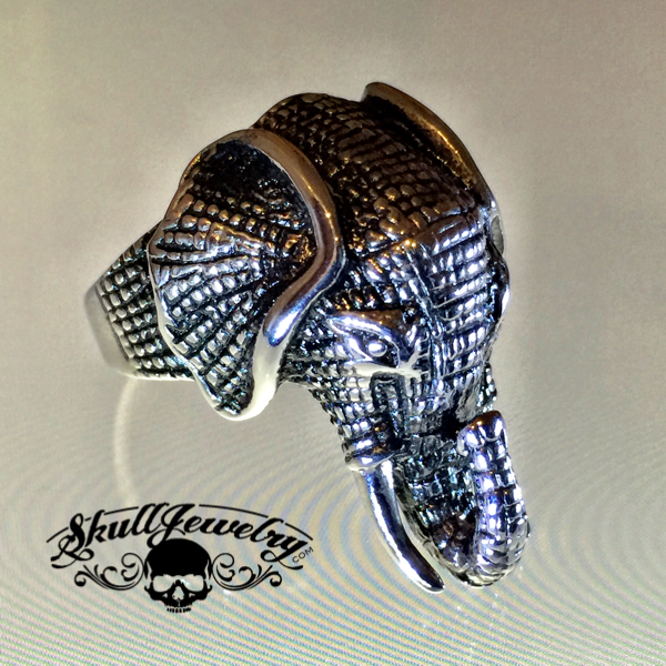 'Kandula' the Elephant Stainless Steel Ring