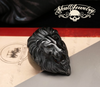 King-Leonidas-the-lion-matte-black-lion-ring