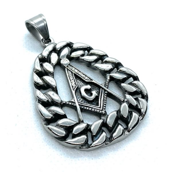 Large Masonic Pendant (c333)