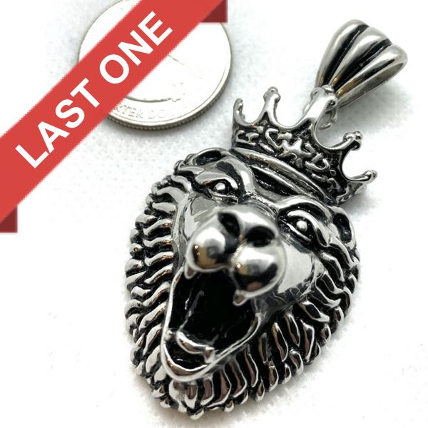 Lion King Pendant (c050-D)