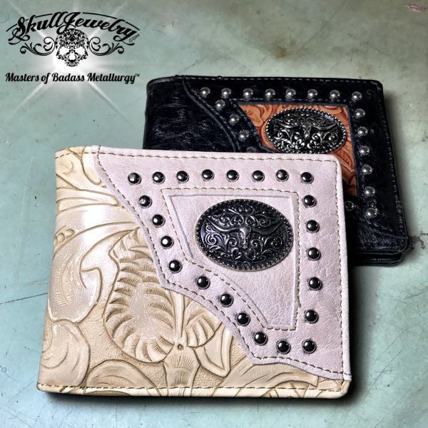 Longhorn Leather Wallet