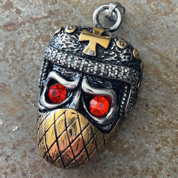 'Masked Outlaw' Pendant (#p133)