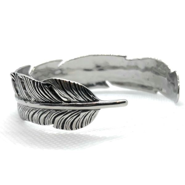 'Native American Leaf' Bangle Bracelet (bangle012)