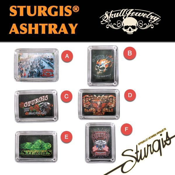 Official Sturgis® Rally Merchandise - Ashtrays