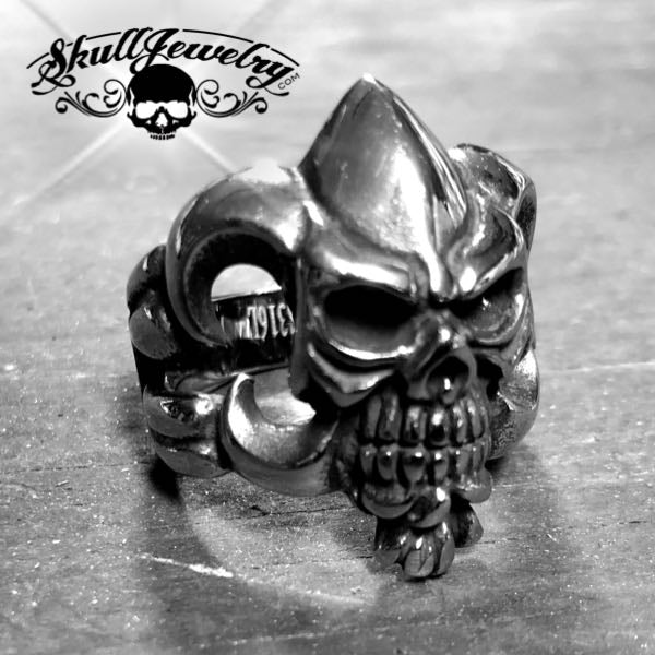 'One Of These Days' Skull Ring (115)