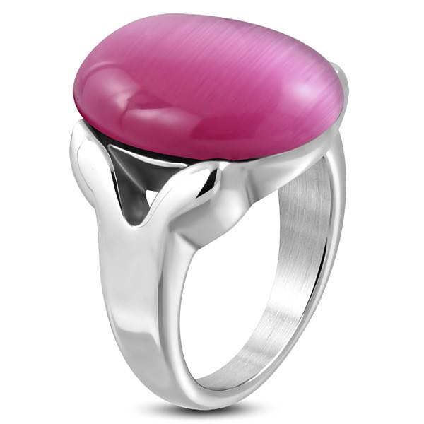 'Pink Moon' Ring