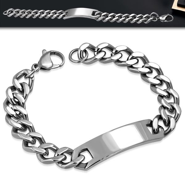 Plated Stainless Steel Bracelet