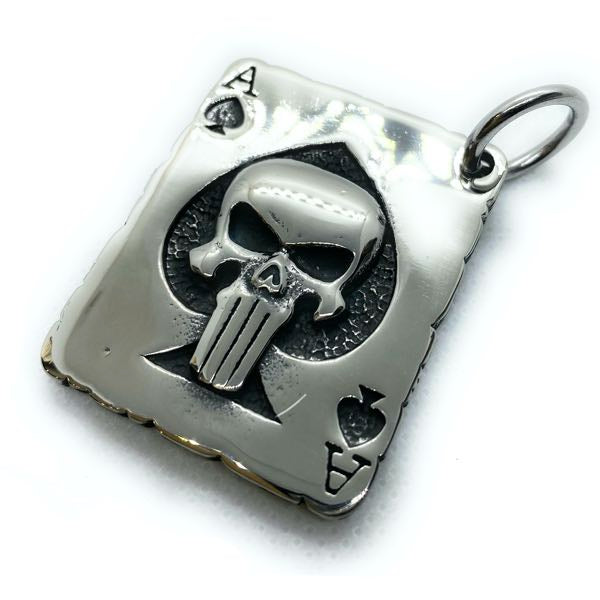 'Punisher - Ace of Spades' Pendant