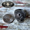 Satisfaction Detailed & Antiqued Skull Ring