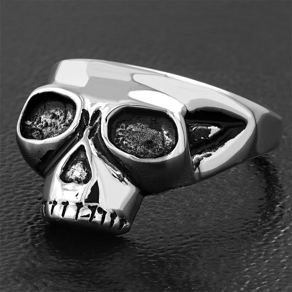 'Search & Destroy' Skull Ring