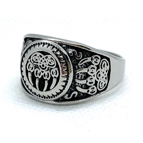 Silver Legend  'Bear Claw' Ring