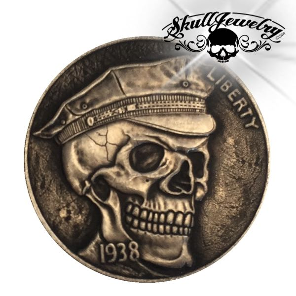 'Soldier' 1937-D 3-Legged Buffalo Hobo Nickel