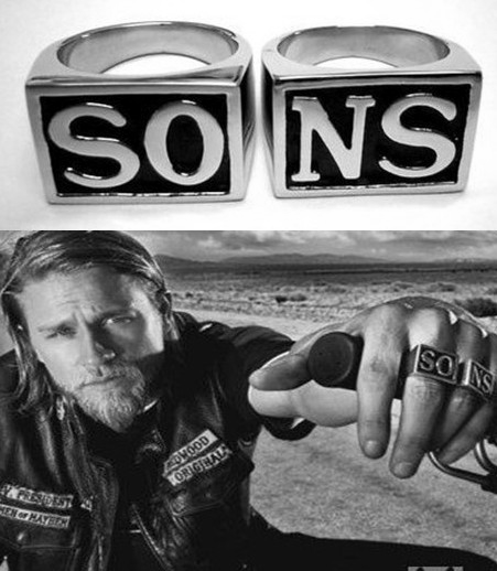 SAMCRO ring - Son's of Anarchy
