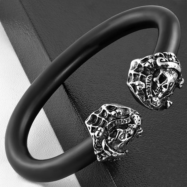 'Spider Web' Bangle Bracelet (c231)