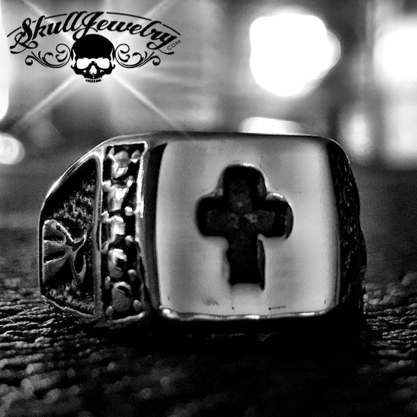 'St. Paul' Christian Cross Ring