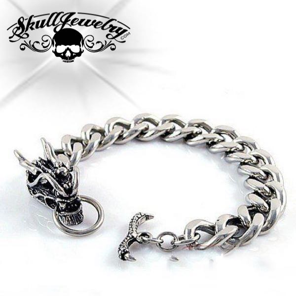 Stainless Steel Dragon Bracelet