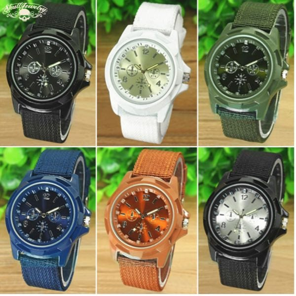 Swiss Army Style Watch (6 Colors To Choose From)