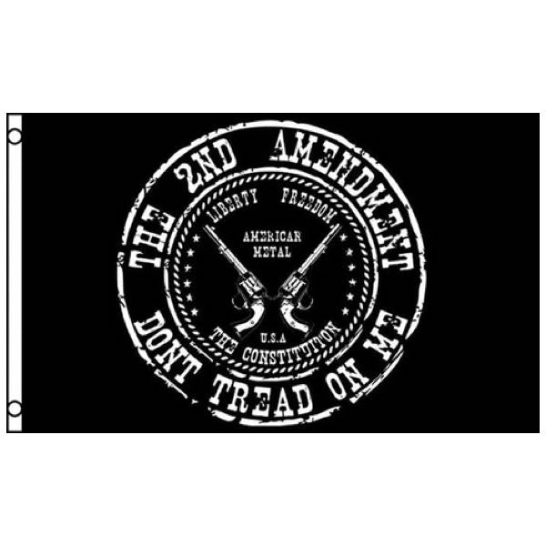 The 2nd Amendment - Don't Tread On Me Flag (flag021)