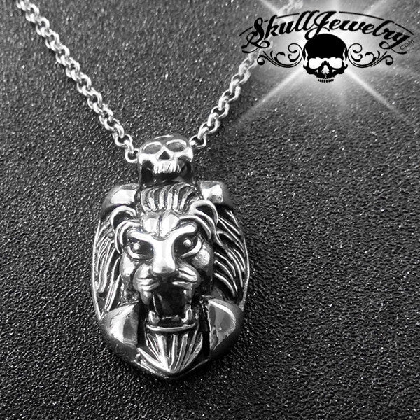 'The Ghost and the Darkness' Big, Bold Lion Pendant