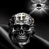 The Old Rugged Cross skull ring