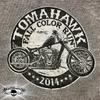 Tomahawk 2014 -Fall Color Run T-Shirt - patch