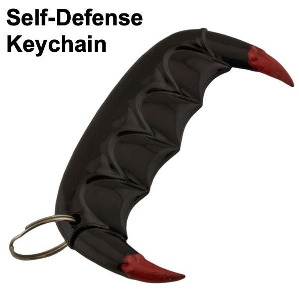 Vampire Slayer Teeth Public Safety Keychain
