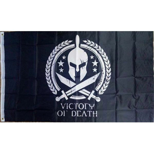 Victory or Death flag 3'x5' (flag029)