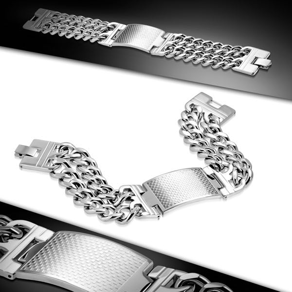 Watch-Style Thick Bracelet
