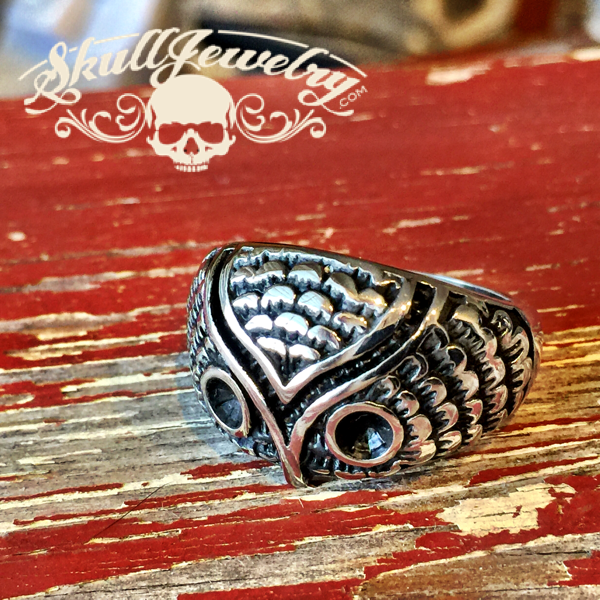 Whyte Owl Stainless Steel Ring