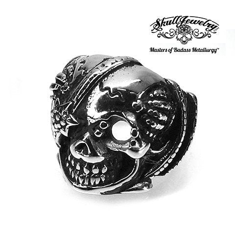 Rock N' Rolla Skull Ring