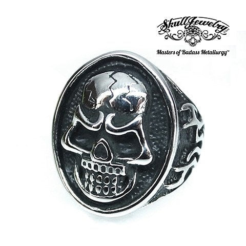Round About Midnight Skull Ring