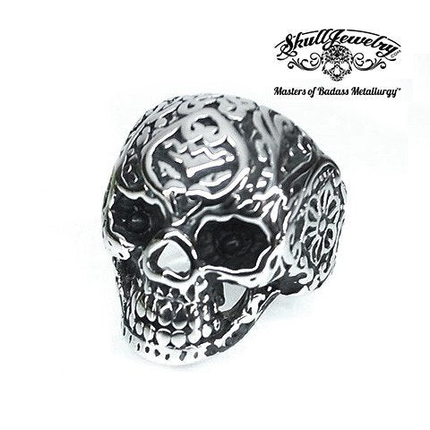 Skulls Night Out skull ring